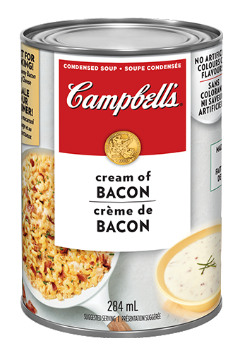 soupe condense campbellsmd crme de bacon