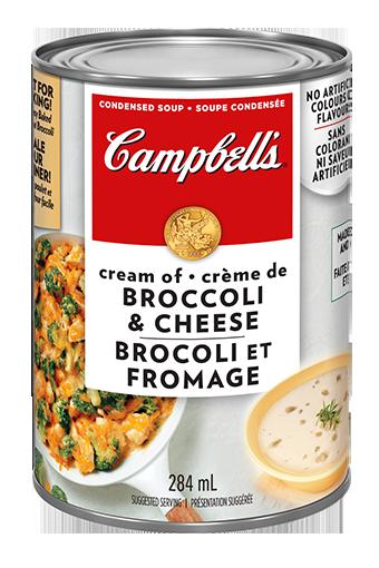 campbells condense brocoli et au fromage