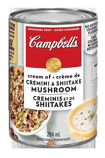 campbells condense crme de champignons sauvages