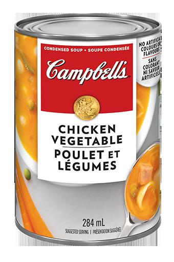 Poulet et légumes de Campbell's