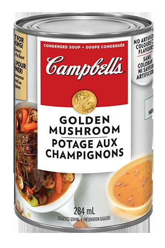 campbells condense potage aux champignons