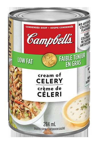 campbells condense crme de cleri faible teneur en gras