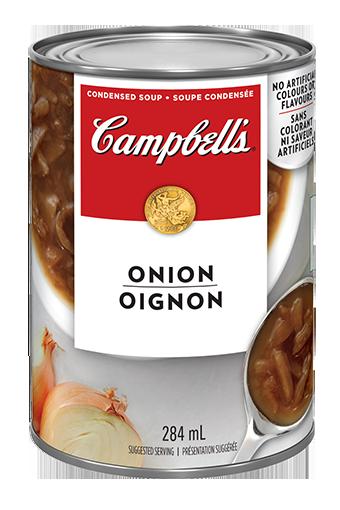 La soupe à l'Oignon de Campbell's