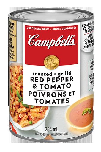 soupe condensée Campbell's® Poivrons rouges grillés et tomates