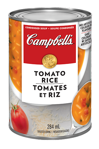 campbells condense tomates et riz