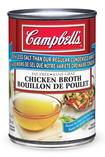 Campbell's Condensed 25% Less Sodium Chicken Broth