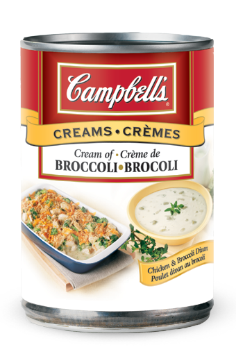 campbells condensed cream of broccoli