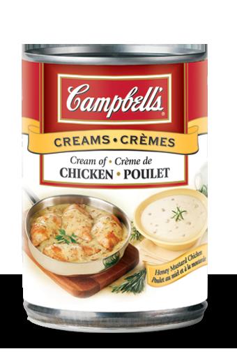 campbells condense crme de poulet