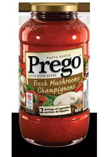 sauce pour ptes pregomd champignons