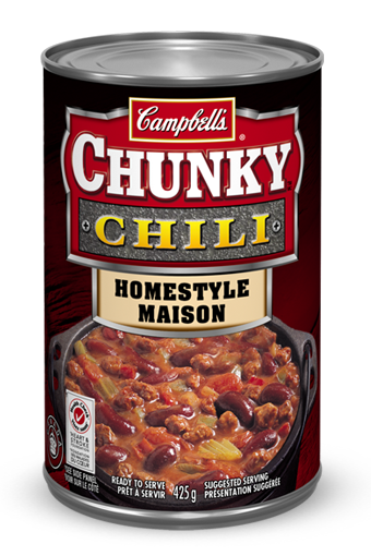 campbells chunky homestyle chili 425 ml