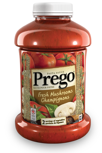 prego fresh mushrooms pasta sauce 175 l
