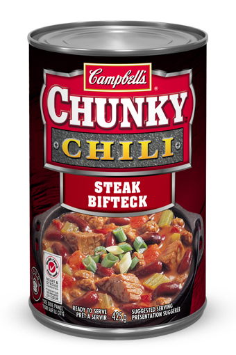 campbells chunky bifteck chili 415 ml