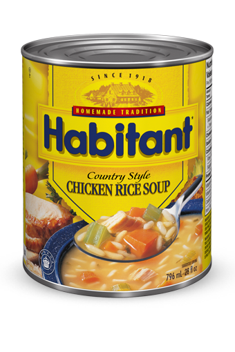 habitant country style chicken rice soup