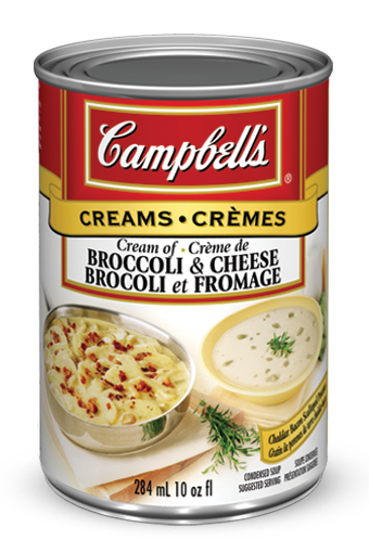 campbells condensed cream of broccoli and cheese