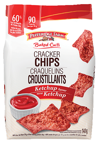 Pepperidge Farm ® Craquelins Croustillants, saveur Ketchup