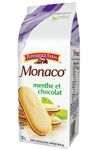 Pepperidge Farm Monaco menthe et chocolat