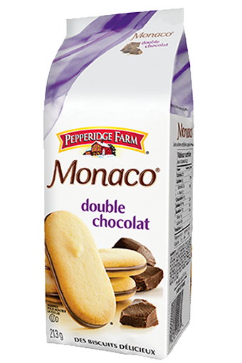 Pepperidge Farm Monacao double chocolat