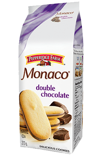 pepperidge farm monaco double chocolate 213 g