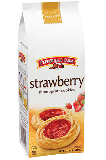 Pepperidge Farm® Strawberry Thumbprint Cookie