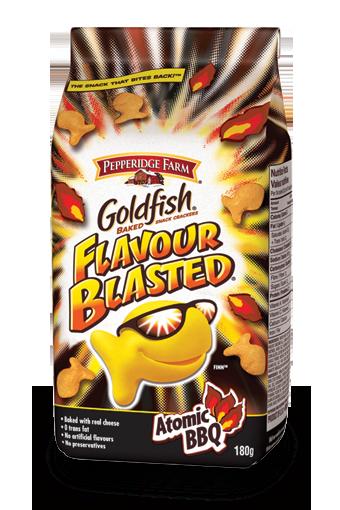 Goldfish Flavour Blasted Atomic BBQ