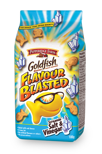 goldfish flavour blasted screamin salt vinegar