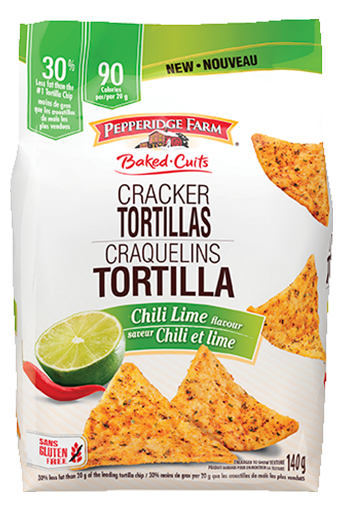 Pepperidge Farm ® Craquelins Tortilla, saveur Chili et lime