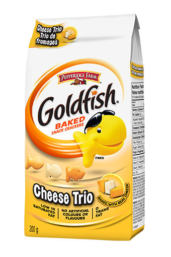 goldfish cheese trio