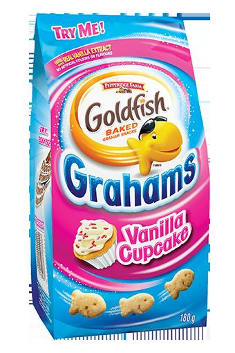 goldfish vanilla cupcake grahams