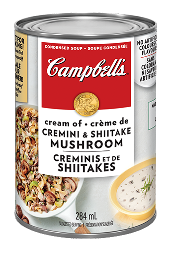 campbells condensed cream of cremini shiitake mushroom