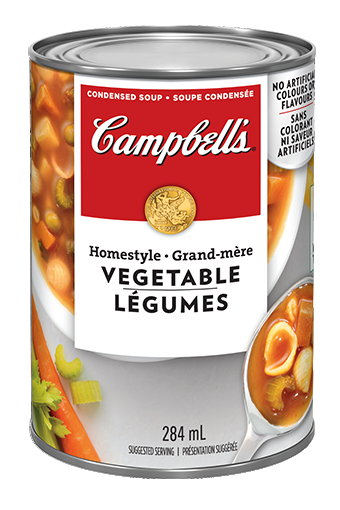 campbells condensed homestyle vegetable