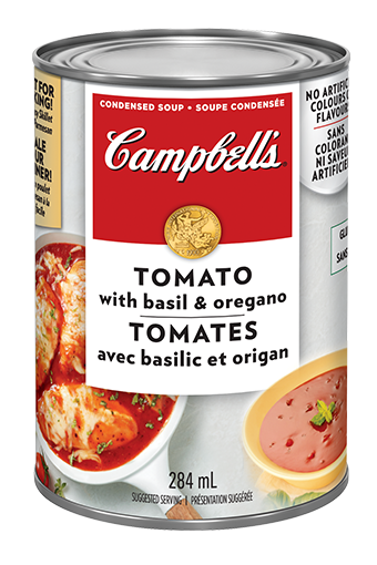 campbells condensed tomato with basil and oregano