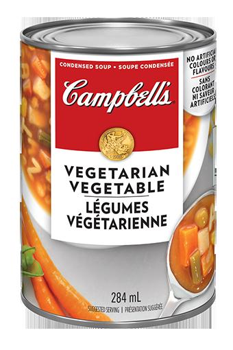 campbells condensed vegetarian vegetable