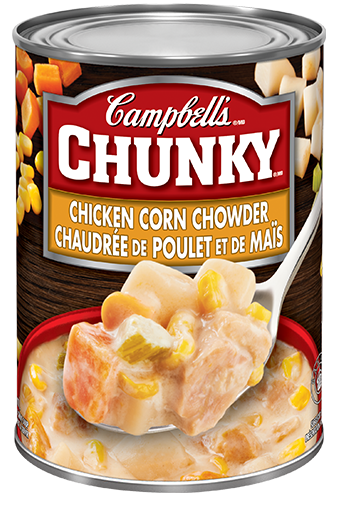 campbells chunky chicken corn chowder 540 ml