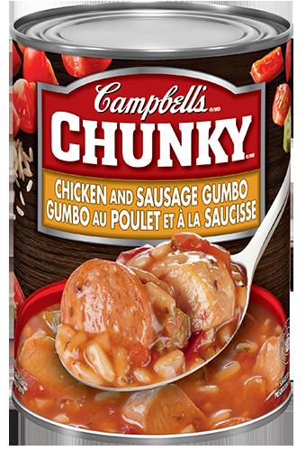 campbells chunky combo au poulet et la saucisse 540 ml