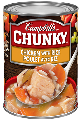 campbells chunky chicken with rice 540 ml