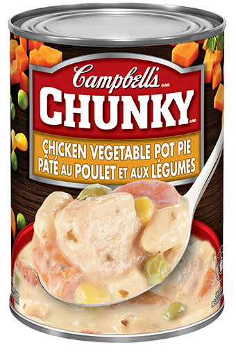 campbells chunky chicken vegetable pot pie 540 ml