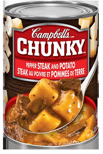 Campbell's Chunky Steak Au Poivre et Pommes de terre