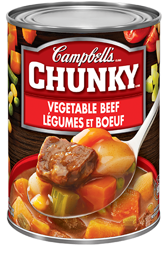 Campbell's Chunky Legumes et Boeuf