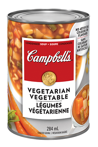 campbells condensed vegetarian vegetable