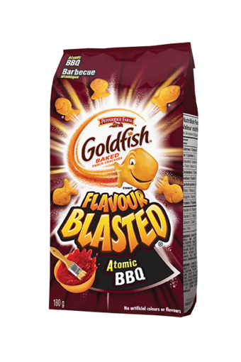 Goldfish Flavour Blasted Atomic BBQ