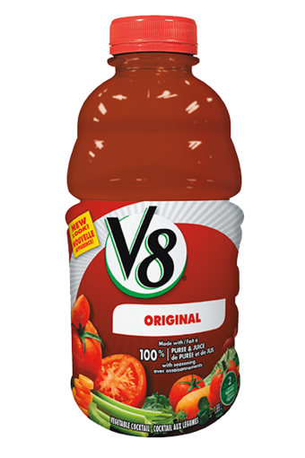 v8 original vegetable cocktail 189 l 950 ml